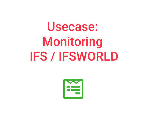 WLSDM Usecase: Monitoring IFS / IFSWORLD