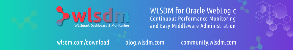 WLSDM Native WebLogic Monitoring Diagnostics