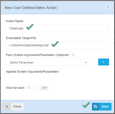 WLSDM: User Defined JMX Metric Actions
